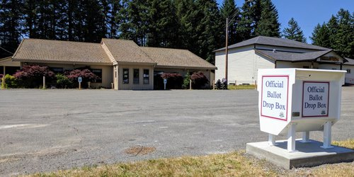 Packwood Senior Center Drop Box