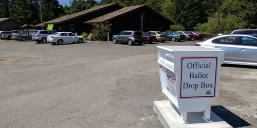 Winlock Senior Center Ballot Drop Box